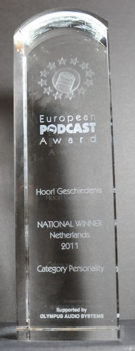 Afbeelding van de European Podcast Award